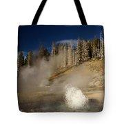 West Triplet Geyser Tote Bag