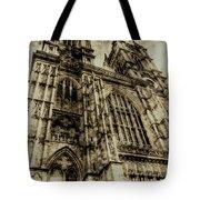 Westminster Abbey London Vintage Tote Bag