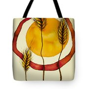 Wheat And Sun Tote Bag