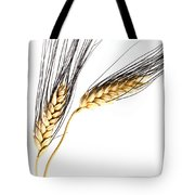 Wheat On White Tote Bag