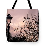When The Lights Are Down Tote Bag