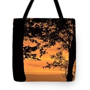 When The Sun Goes Down Tote Bag