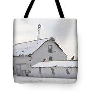 White Barn Tote Bag