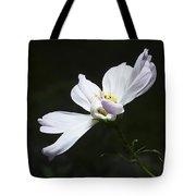 White Flower In Bloom Tote Bag