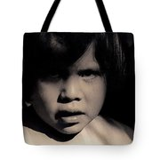 White Mountain Apache Girl Rodeo White River Arizona 1969-1984 Tote Bag