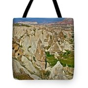Who Lives Here In Cappadocia-turkey  Tote Bag