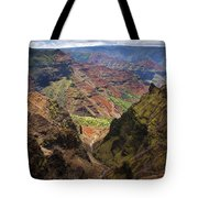 Wiamea Depth Tote Bag by Mike  Dawson