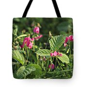 Wild Grass Flower Tote Bag