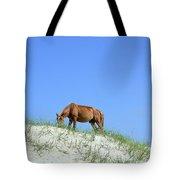 Wild Horses Of Corolla Tote Bag