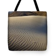 Wind Traces At The Desert Tote Bag