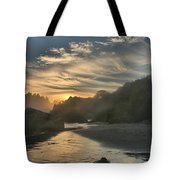 Winding Down Tote Bag by Adam Jewell