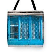 Window Of Soviet Building Tote Bag