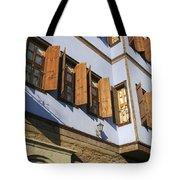 Window Shutters Tote Bag