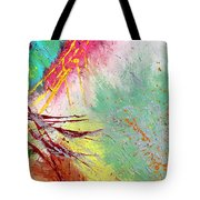 Modern Abstract Diptych Part 2 Tote Bag