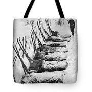 Winter Camping Tote Bag