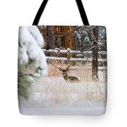 Winter Doe Tote Bag