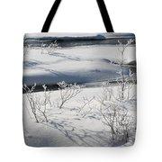 Winter Stream, Jasper National Park Tote Bag
