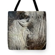 Wise One,elephant  Tote Bag