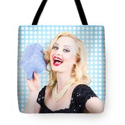 Woman Cleaner Maid  Tote Bag