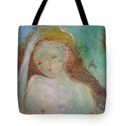 Woman Of Sorrows Tote Bag by Laurie Lundquist