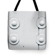 Wood And Bolts Tote Bag