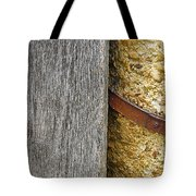 Wood Concrete And Steel In Color Tote Bag