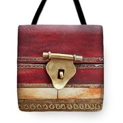 Wooden Box Tote Bag by Tom Gowanlock