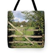 Wooden Gate Sussex Uk Tote Bag