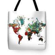 World Atlas  Tote Bag