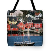 World Hertitage Designated Town On Tote Bag