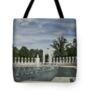 World War 2 Memorial Tote Bag