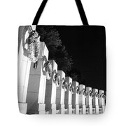 World War Pillars Tote Bag