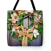 Wreath 24 Tote Bag