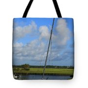 Wrightsville Beach Tidal Marsh Tote Bag