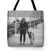 Santa Barbara Breakwater Tote Bag