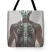 X-ray Skeleton Tote Bag