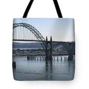 Yaquina Bay Bridge - Newport Oregon Tote Bag by Daniel Hagerman