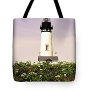 Yaquina Lighthouse In May Tote Bag