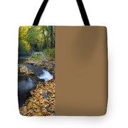 Yellow Autumn Tote Bag