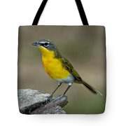 Yellow-breasted Chat Tote Bag