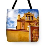 Yellow Colonial Church Tote Bag