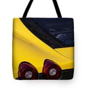 Yellow F430 Tote Bag