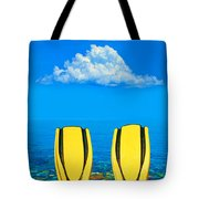 Yellow Fins Tote Bag