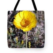 Yellow Wildflower Tote Bag