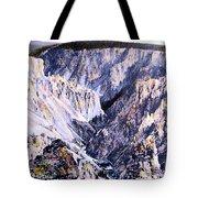 Yellowstone Canyon Yellowstone Np Tote Bag