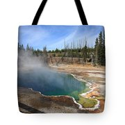 Yellowstone Park - Geyser Tote Bag