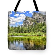 Yosemite Merced River Rafting Tote Bag