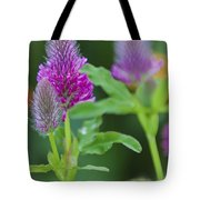Young Delphinium Tote Bag