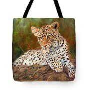 Young Leopard Tote Bag