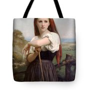 Young Shepherdess Tote Bag
